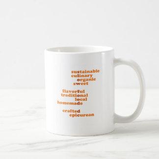 Show your Slow Food DC Pride! Classic White Coffee Mug