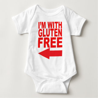Show your support for your Gluten-Free loved one! Baby Bodysuit