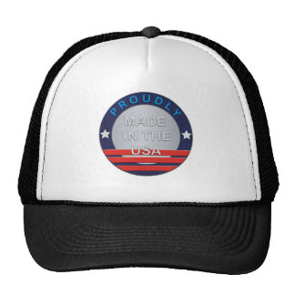 Show Your Support Hat-Proudly Made in the USA Trucker Hat