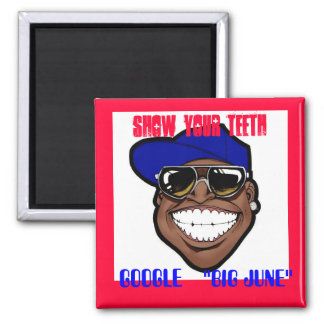 SHOW YOUR TEETH MAGNET - Customized