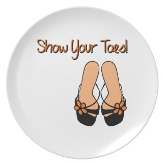 Show Your Toes Plates