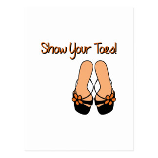 Show Your Toes Post Cards