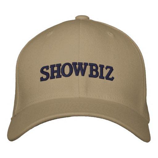 SHOWBIZ EMBROIDERED BASEBALL HAT