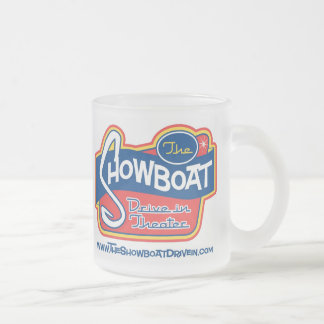 Showboat Drive In Frosted Mug