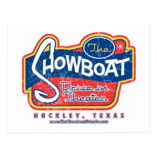 Showboat Drive in Post Card