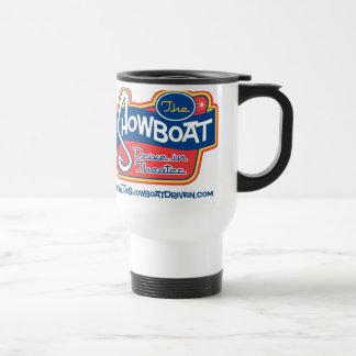 Showboat Drive In White Travel Mug