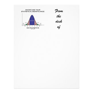 Showcase Your Statistical Significance Statistics Letterhead