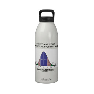 Showcase Your Statistical Significance Statistics Drinking Bottle
