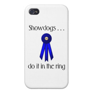 Showdogs Do It In The Ring iPhone 4 Cover