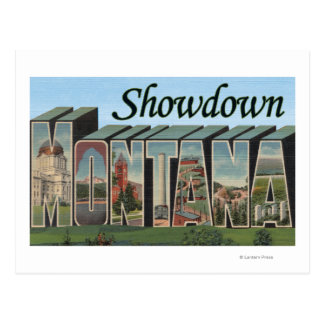 Showdown, Montana Postcard