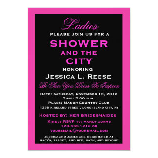 Shower and the City Card
