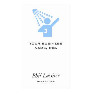 Shower Business Card Templates