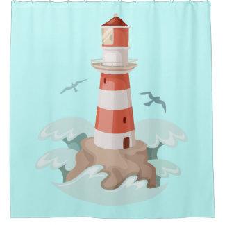 Shower Curtain/Lighthouse Shower Curtain