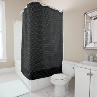 Shower Curtain MID-EVIL CHAIN LINK FENCE DESIGN