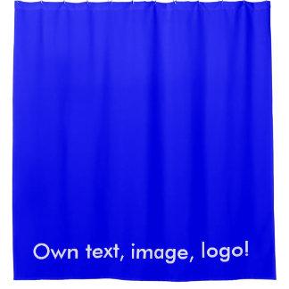 Shower Curtain uni Royal Blue