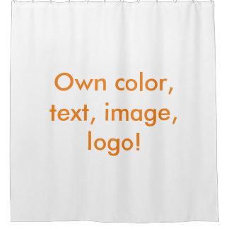 Shower Curtain uni White - Own Color