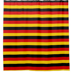 Shower Curtain With Flag Of Germany