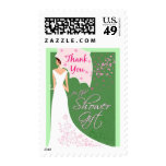 Shower Gift Thank You Postage Stamp