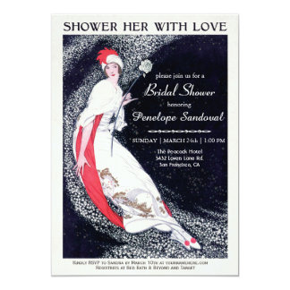 Shower Her With Love Bridal Shower Invitations