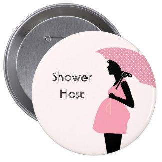 shower host baby shower button