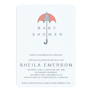 Shower In The Forecast Card
