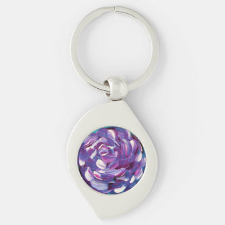 Shower Me With Flowers Keychain