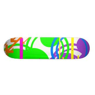 Shower of Color Skateboard