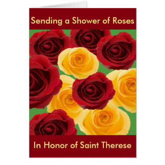Shower of Roses Card Designed By: Maryann D'Amico