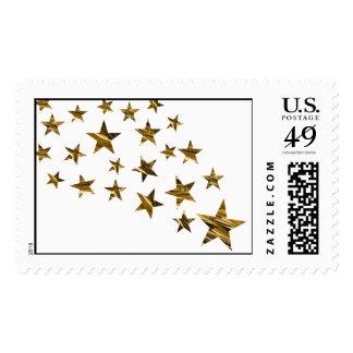 Shower of Stars stamp