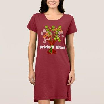 Bride Themed Shower or Bacheloretter Party Dress