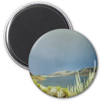 Shower Over Blue Mesa Magnet