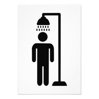 Shower person invite