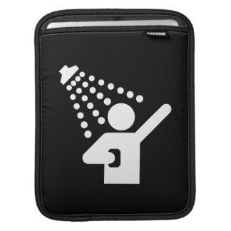 Shower Pictogram iPad Sleeve