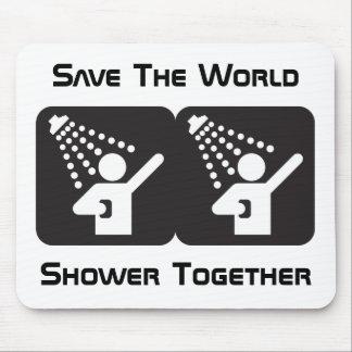 Shower Together Mousepad
