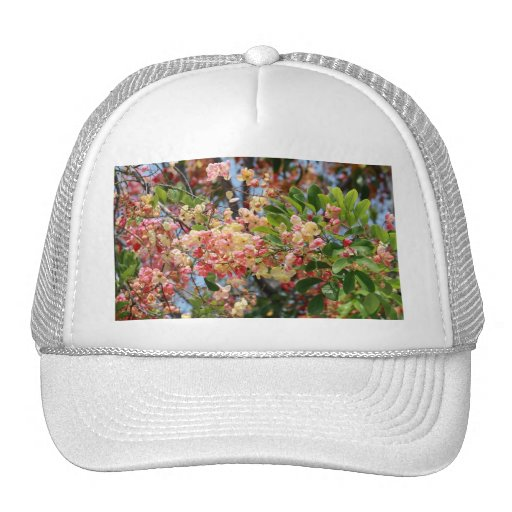 Shower Tree Blossoms Trucker Hat