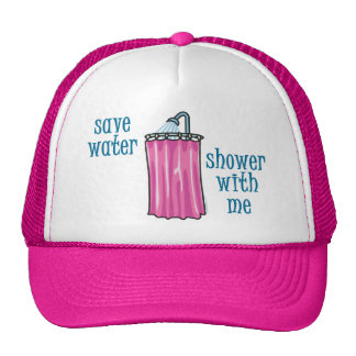 Shower with Me - Save Water Trucker Hat