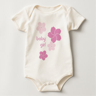 Showering Cherry Blossoms Organic Infant Creeper