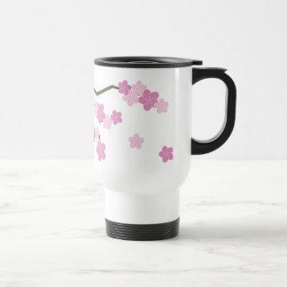 Showering Cherry Blossoms Travel Mug