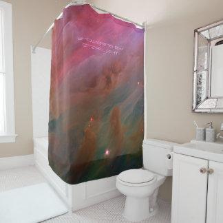 Showering in Star Light for that Fresh Feeling Shower Curtain