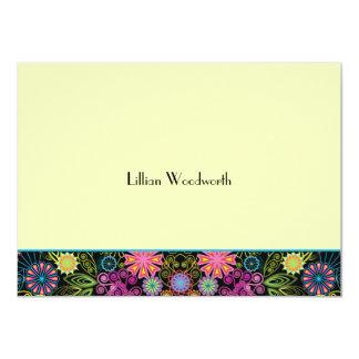 Showers of Brightness Personalized Notecard Invite