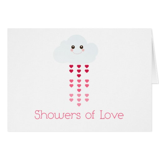 Showers of Love Greeting Cards