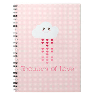Showers of Love Spiral Note Book