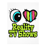 Showes televisivo brillantes de la realidad del am invitación personalizada