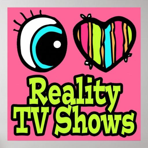 Showes televisivo brillantes de la realidad del am impresiones