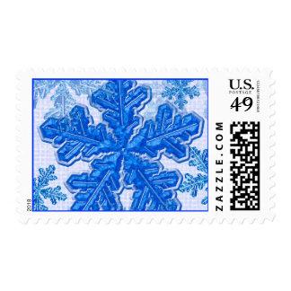 ShowflakePostage Postage Stamp