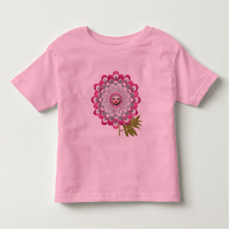 Showgirl flower toddler t-shirt