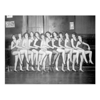 Showgirls, 1924 postcard