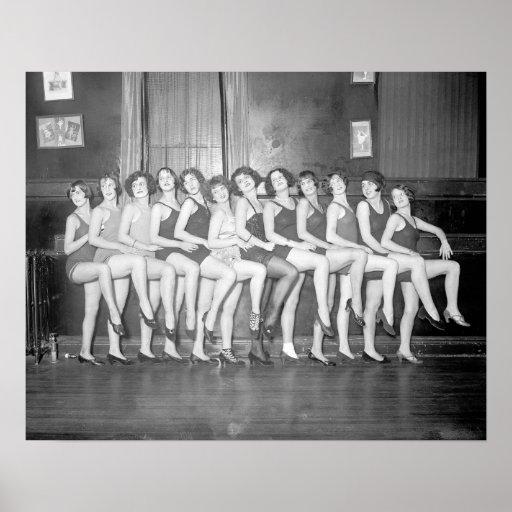 Showgirls, 1925 print