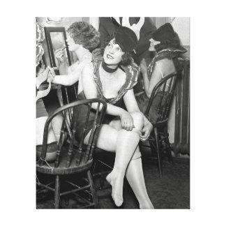 Showgirls Backstage, 1926 Canvas Print