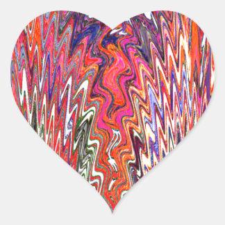 Showgirls Heart Sticker